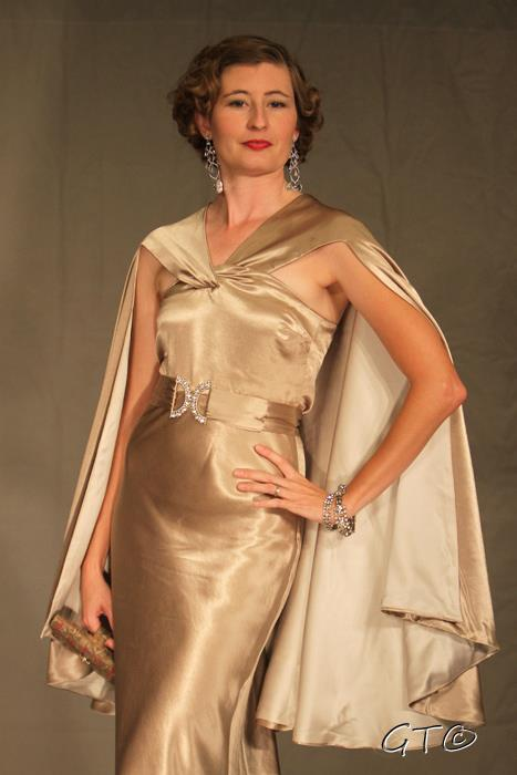 Finished Project- 1930s Dinner Dress – Wearing History® Blog
