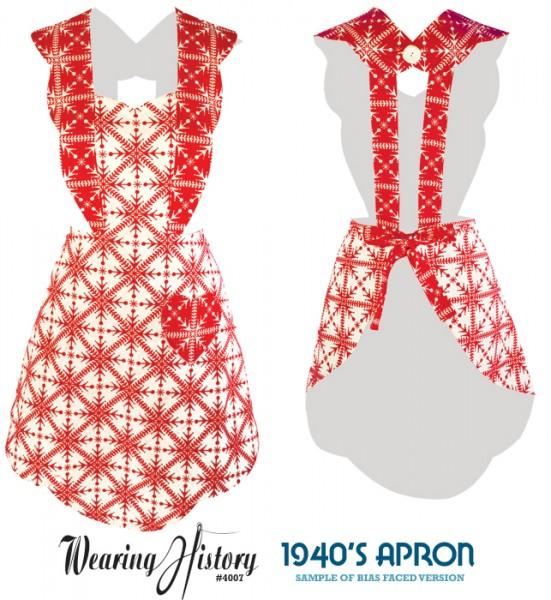 1940's Apron Pattern- Sample Photos – Wearing History® Blog