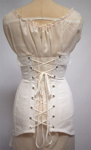 finished project 1910s corset  wearing history® blog