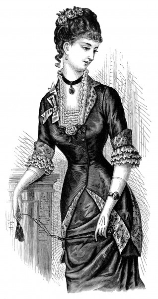 Victorian Womens Clothing Patterns Era clothing patterns