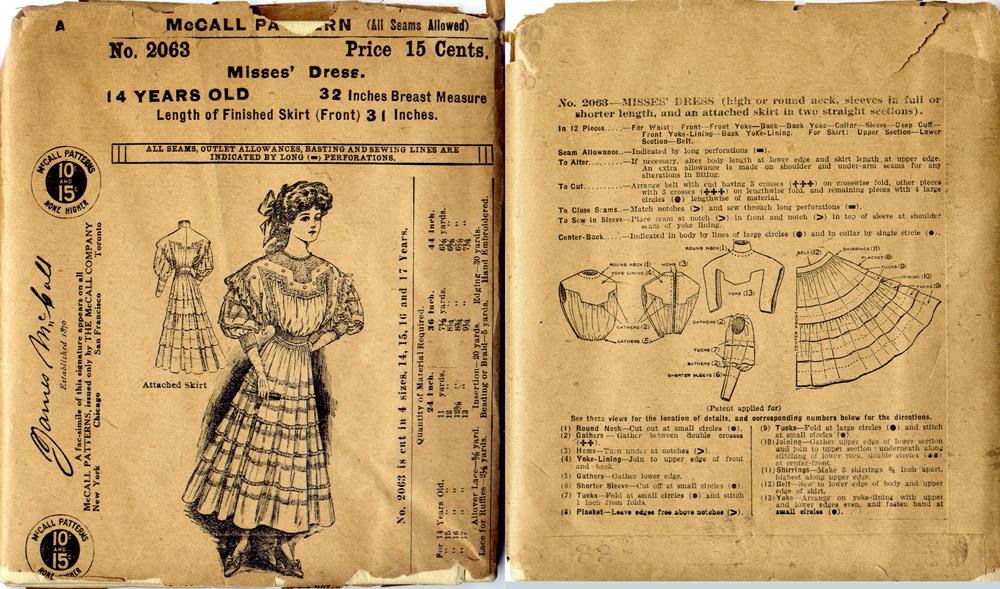 De Coding Vintage Patterns Part 1 Mccall Patterns The Advent Of