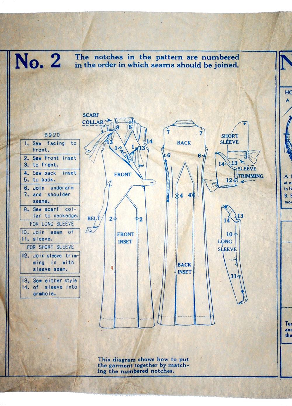 De coding vintage patterns part 1 mccall patterns the advent mccall1932instructions2 jeuxipadfo Choice Image