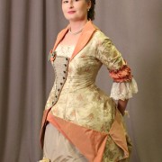 Wearing History: 1879 Dinner Dress