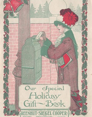1910s Holiday Gift Book Catalog