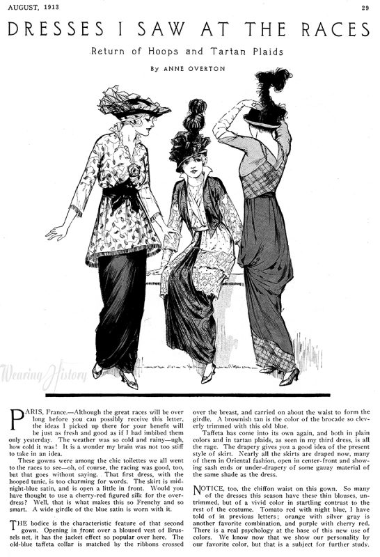 McCall's Magazine, November 1913. Wearing History Blog.